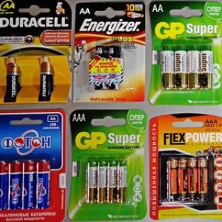"""Батарейки от """"Dantorg"""""""
