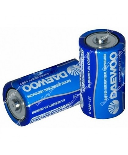 Батарейки Daewoo R20