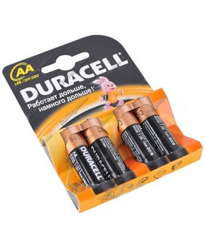 Батарейки Duracell (Дюрасел) R06