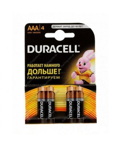 "Батарейки Duracell (Дюраселл) R03 от ""DantorG"""