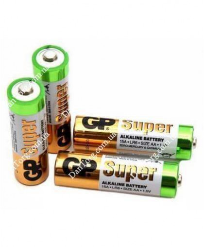 Батарейки GP (Джипи) Alkaline R06