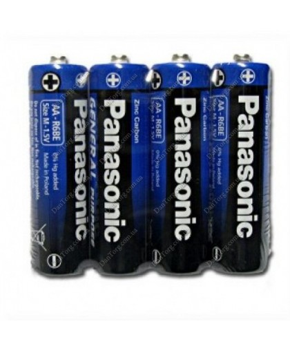 Батарейки Panasonic (Панасоник) R06