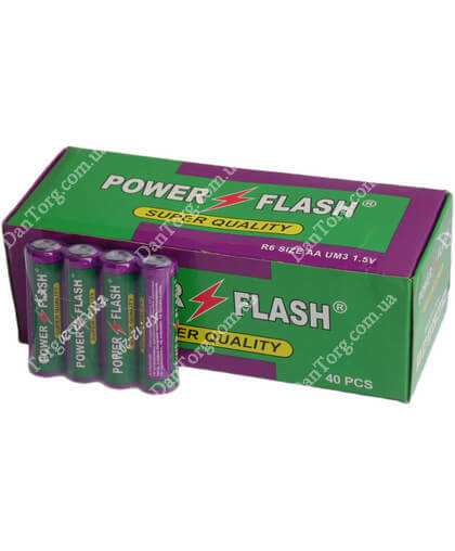 Батарейки Power Flash R06