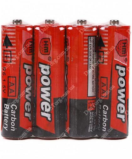 Батарейки Power R06 (АА)