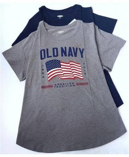Классическая футболка от Оldnavy