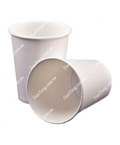 Стакан бумажный белый 175 мл (50 шт)
