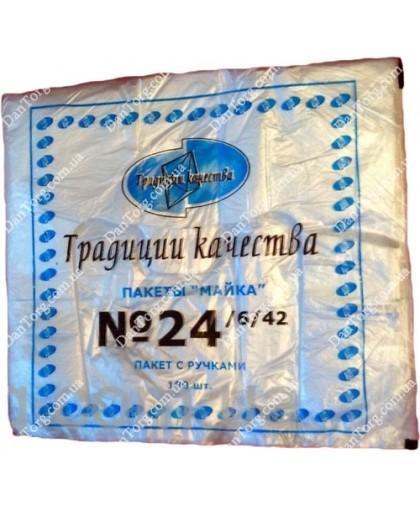 Пакет майка фасовочная ТК 24х42