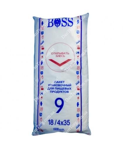 Фасовочные пакеты  Вoss №9 26х35 (1000 шт)