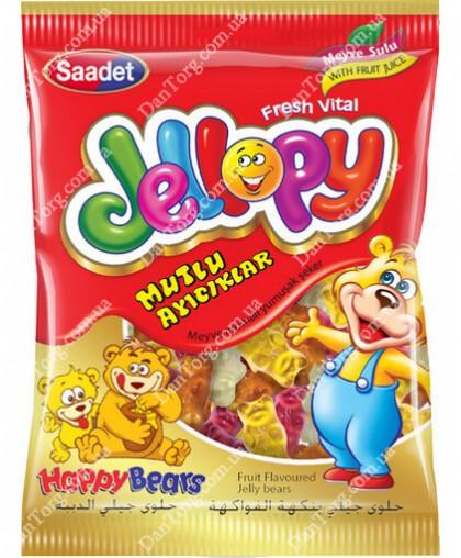 Джеллопи Jellopy Мишки жевательный мармелад