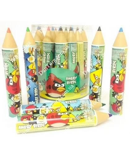 Карандаш с драже Энгри Бердс (Angry Birds)