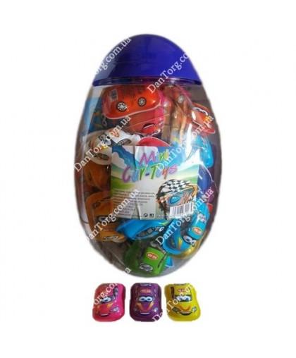 Тачки Toys  банка яйцо с сюрпризом
