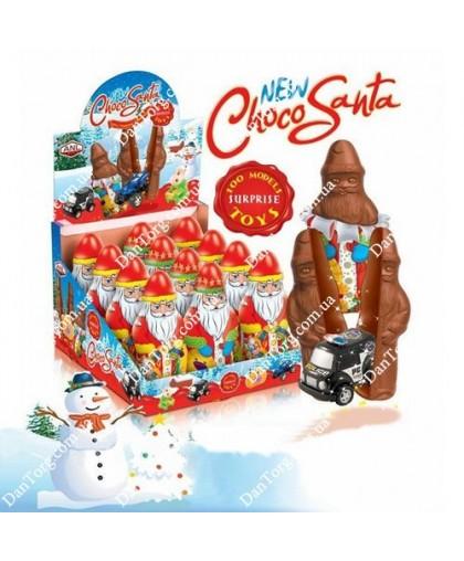 Шоколадная фигурка Дед Мороз 120 гр с сюрпризом