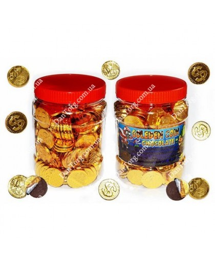 Шоколадная монетка