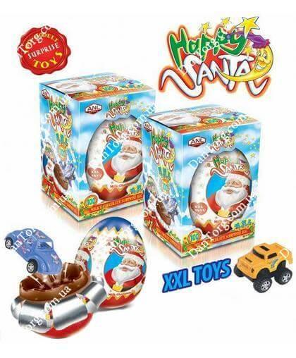 Шоколадное яйцо С Новым Годом с сюрпризом 115 гр