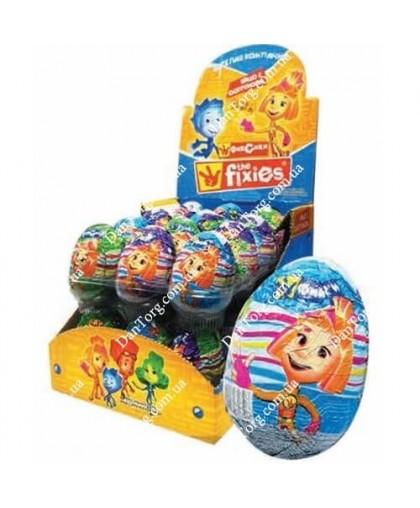 Шоколадное яйцо Фиксики с сюрпризом