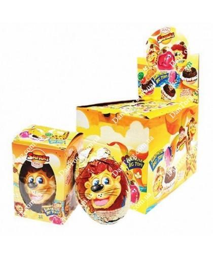 "Шоколадное яйцо Сафари 60 гр с сюрпризом от ""DantorG"""