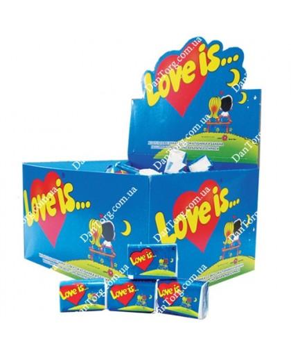 Жвачка love is Лов ис