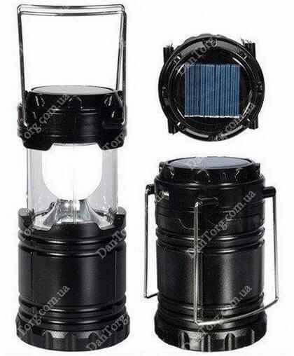 Фонарь G 85 аккумуляторный с солнечной панелью