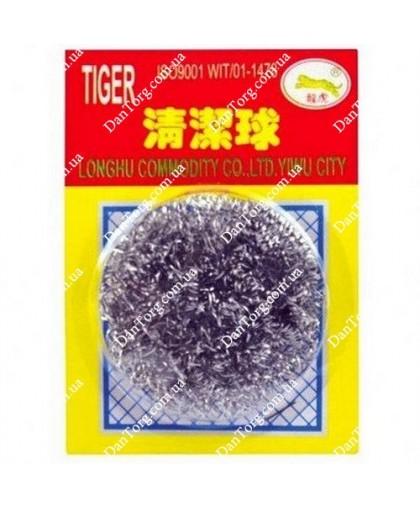 Скребок Тигр (1 шт) индивидуальная упаковка