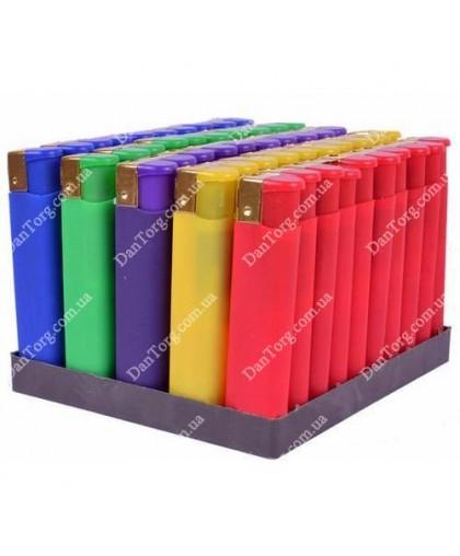Зажигалка Бархат (Резина) цветная